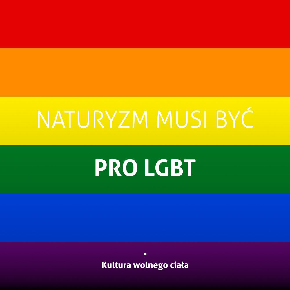 Naturyzm musi być pro-LGBT